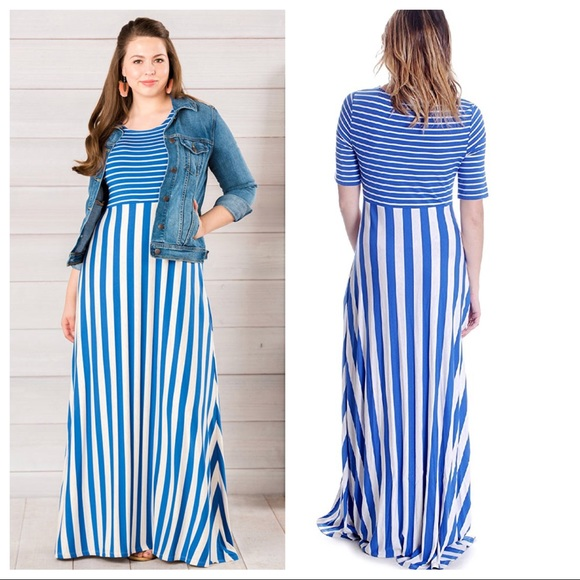 915a918ae4bd Matilda Jane Dresses | Road Ahead Striped Maxi Dress | Poshmark